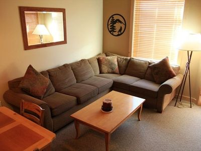 Large sectional with sleeper sofa
