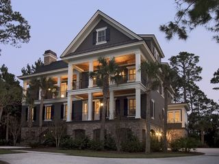 Kiawah Island house photo - House at dusk