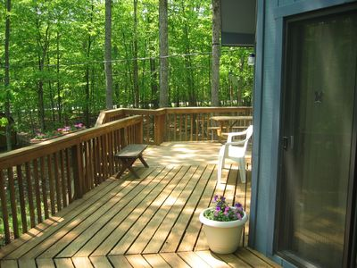 view of wrap around deck