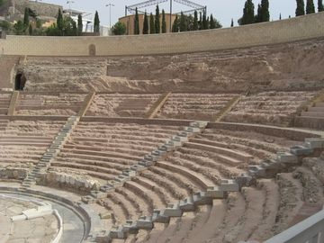 Cartegena's beautiful Roman Theatre