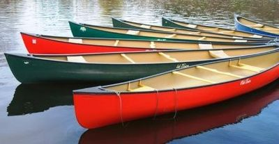 Use our Old Town Canoe on Mirror Lake in Highlands
