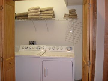 Laundry and Linen Storage