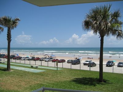 View of The Worlds Most Famous Beach from your private balcony/patio.
