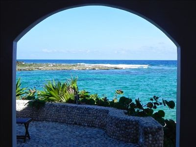 Akumal villa rental - View from terrace