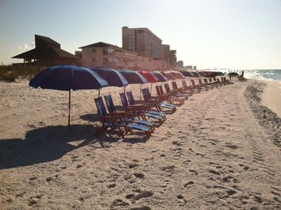 We added beach service for 2013!