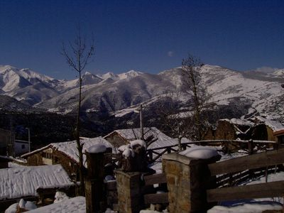 Vega de Liébana apartment rental - Tudes in winter