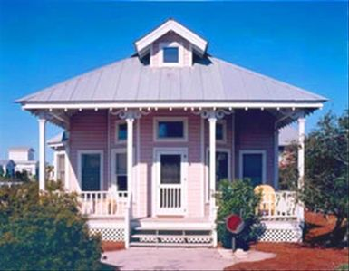Mis-B-Haven - Exterior - Cottage Rental Agency Seaside, Florida