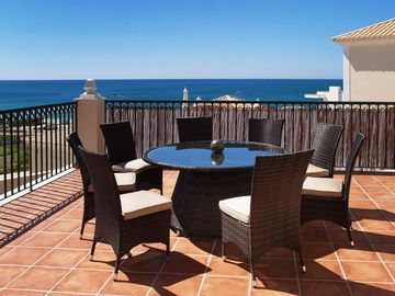 Alfresco Sea View Verandas from all Villas