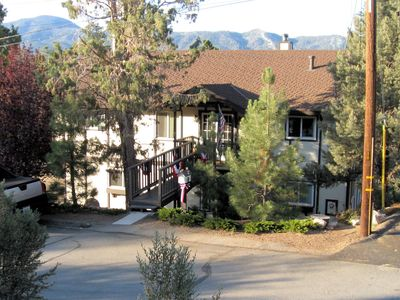 Front view of Scandinavian Lodge