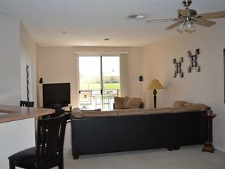 Mesa condo photo - Living room with 50' TV with surround sound and DVD player