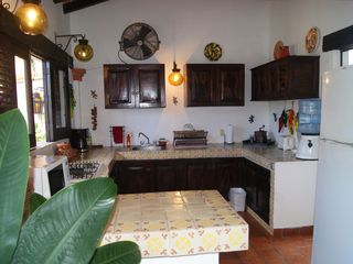 Puerto Vallarta villa photo - Full Kitchen with laundry facilities in adjacent Utility room.