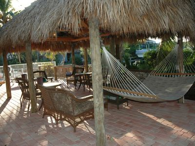 Chickee Hut area - relax and enjoy