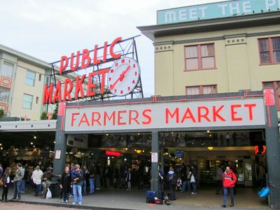 Steps away from historic Pike Place Market