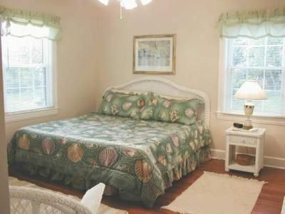 Comfortable king master bedroom