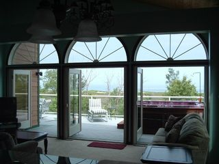 Michigan City house photo - View from the living room of Lake Michigan