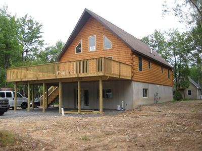 Blakeslee chalet rental - Huge 30' x 58 foot chalet 3200 square feet