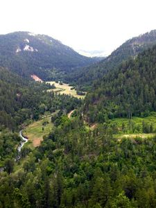 Enjoy hiking, fishing, gold-panning or swimming in beautiful Whitewood Canyon