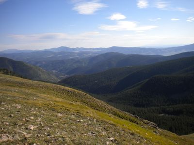 View from Wheeler Peak Wilderness