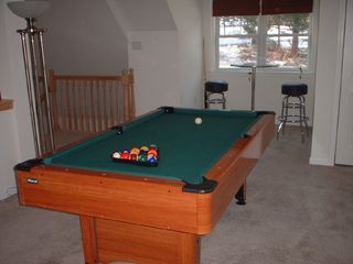 Stratton Mountain house photo - Pool table