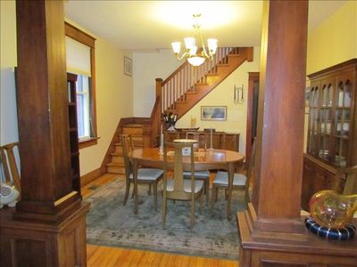 Dining Room and Stairway