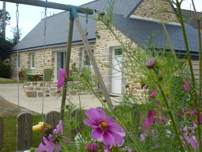 GITE PLAIN -PIED Pte Finistère quiet, 3 *, wifi, 10 minutes from the sea and shops ..