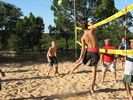 professional sand volleyball court