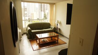 Waikiki condo photo - Living space with a pull out sofa