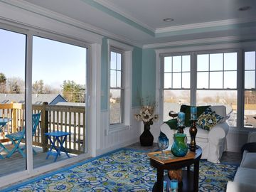 Wells condo rental - This brand new condo features beautiful views of Wells Beach.