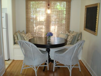 Santa Monica cottage rental - Dining area