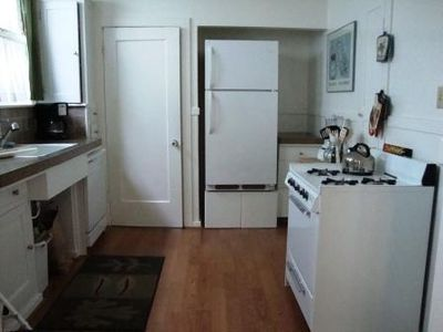Kitchen with Laundry-Mud Room Door Closed