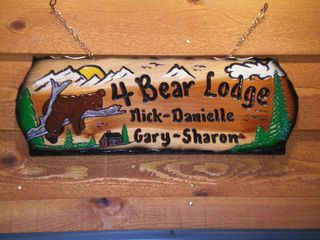 Pinetop condo photo - The Four Bear Lodge is a welcome sign that you have arrived