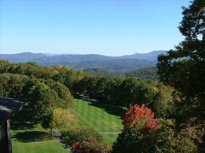 Golf Course from Beech Mountain Club