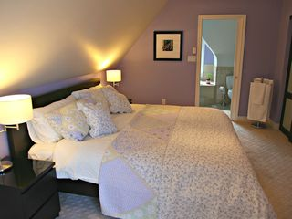 Toronto house photo - 3rd floor master bedroom retreat with king size bed and en-suite.