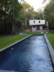 Sag Harbor house photo - A forest house in the heart of Sag Harbor village