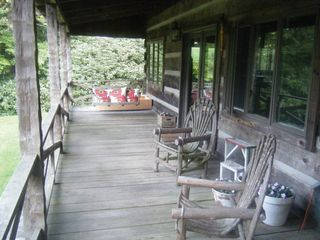 Blowing Rock house photo - Front Porch