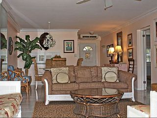 Grand Cayman condo photo - Living Room has flat screen TV and WiFi