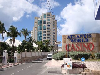 Cupecoy condo photo - The Cliff and Atlantis Casino