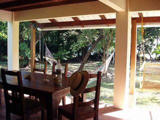 Montezuma house photo - Dine, read, relax: view of the water and animals