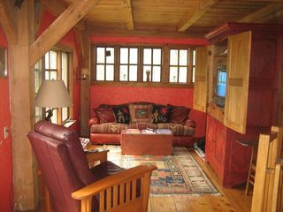 Monterey house photo - open living room