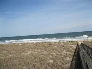 Kure Beach house photo - View of the Ocean from Your Pier