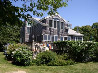 Chilmark house photo - a closer view of the south side