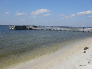 Navarre Beach condo photo - Our Private Fishing Pier.