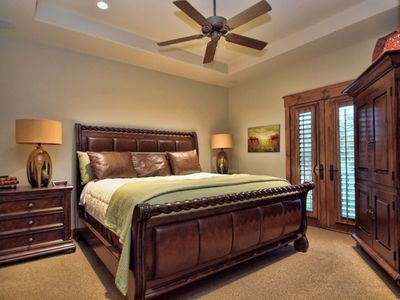 Luxury Guest Suites with private bath, large closets and soft King sized beds