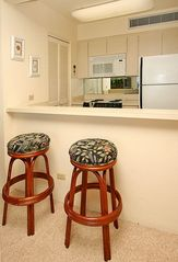 Kaanapali condo photo - Mahana Studio Full Kitchen with Microwave - Maui,