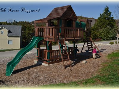 Branson house rental - Playground next to Clubhouse