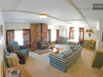Green Valley Lake apartment rental - This is the living room in our Sunrise Suite.