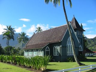 Princeville condo photo - Hanalei church