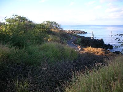 Walkway connecting Kamaole Beaches
