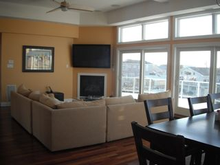 Beach Haven house photo - Living Room - Great Views - Opens to Deck
