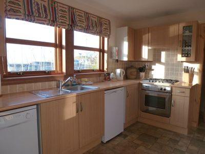 Fully Equipped Kitchen with Harbour View